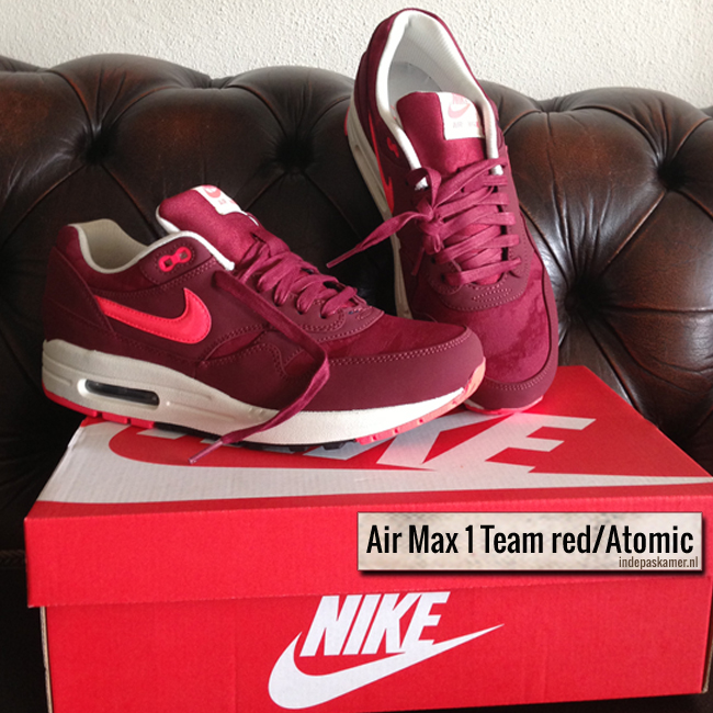 Air Max 1 Team Red Atomic - indepaskamer.nl