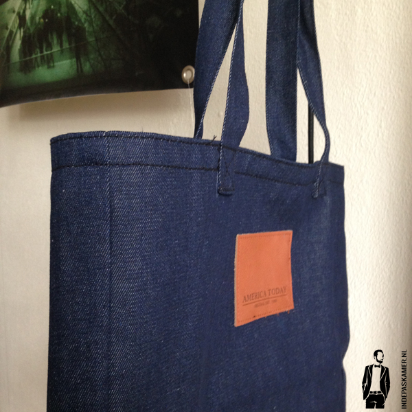 America Today - Denim Bag - indepaskamer