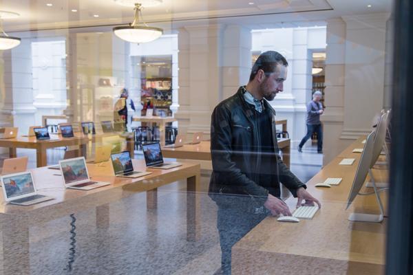 Apple Store Den Haag | indepaskamer | Haagse Shoppingroute voor mannen