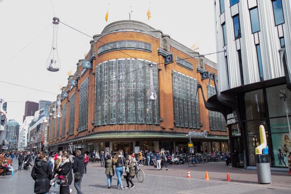 De Bijenkorf Den Haag | indepaskamer | Haagse Shoppingroute voor mannen