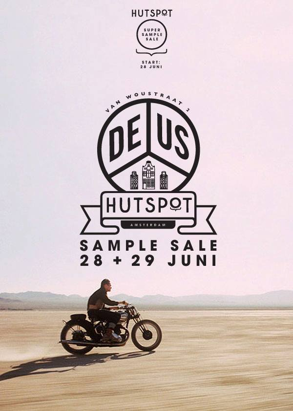 Deus Sample Sale