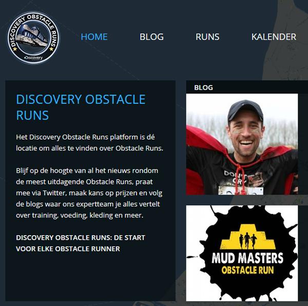 Discovery Obstacle Runs Platform - indepaskamer - steven van dorp - men's fashionblogger