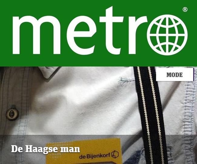 Eerste blog voor Metromode