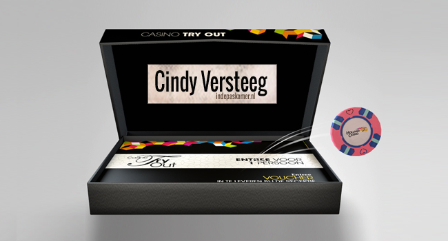 En de winnaar is Cindy Versteeg