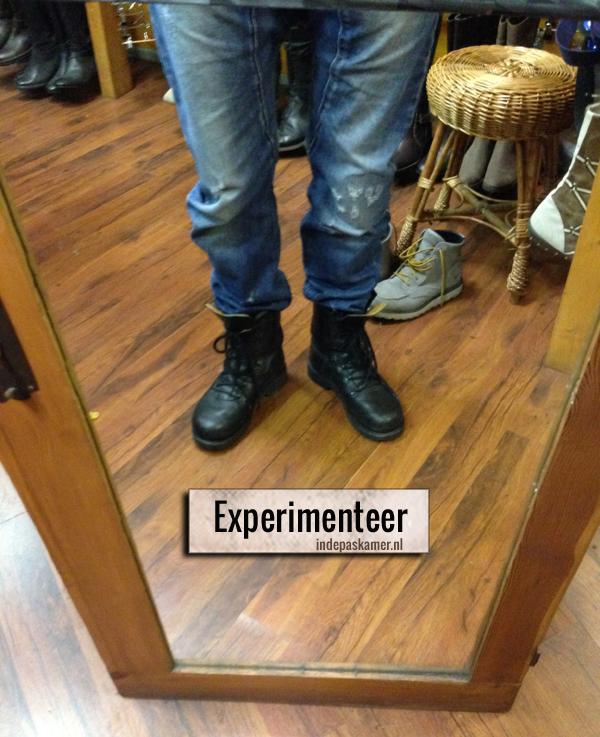 Experimenteer - indepaskamer