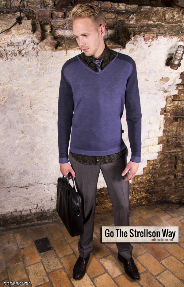 Fashion Style Radio - Go The Strellson Way look - HTT