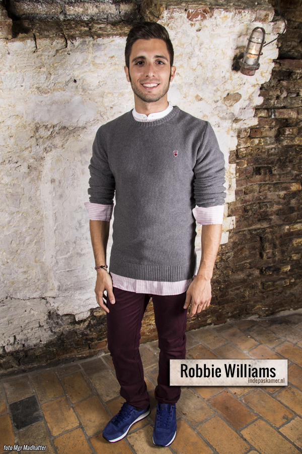 Fashion Style Radio - Robbie Williams look - HTT