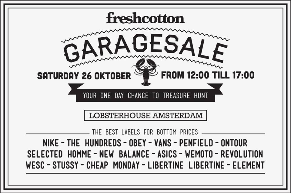 Garagesale Freshcotton - indepaskamer
