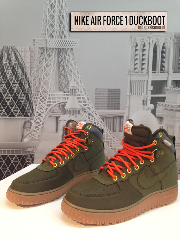 IDPFAVOURITE - Nike Air Force 1 Duckboot - indepaskamer