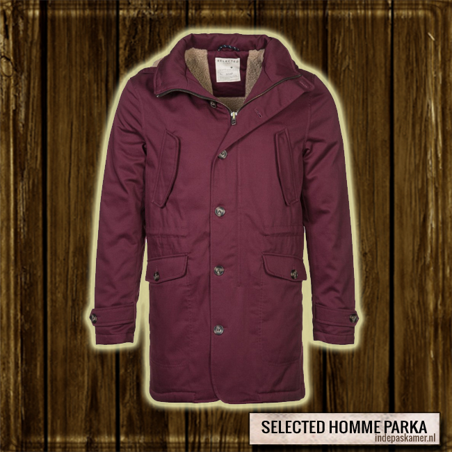 #IDPFAVOURITE - Selected Homme parka - winterjas - indepaskamer