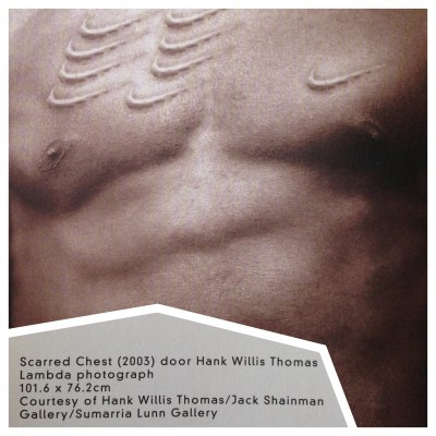 Scarred Chest by Hank Willis Thomas