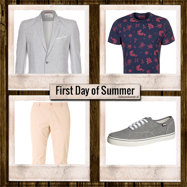 IN DE PASKAMER - First Day of Summerlook