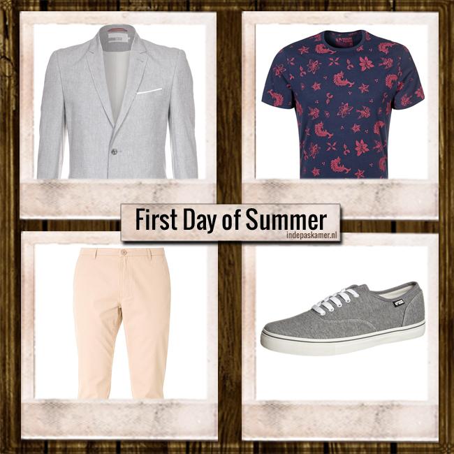 IN DE PASKAMER - First Day of Summerlook