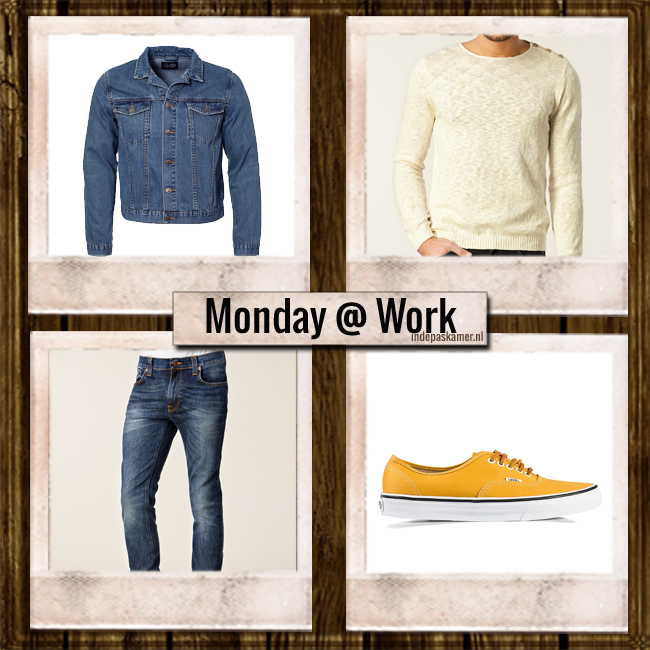 IN DE PASKAMER I MEN'S FASHIONBLOG I Monday @ Worklook