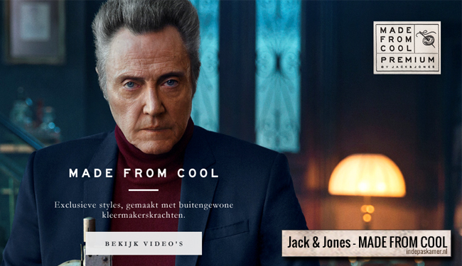 Jack and Jones - MADE FROM COOL - indepaskamer