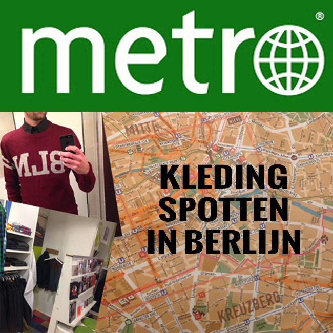 Kleding spotten in Berlijn - Metro Mode - indepaskamer BLOG
