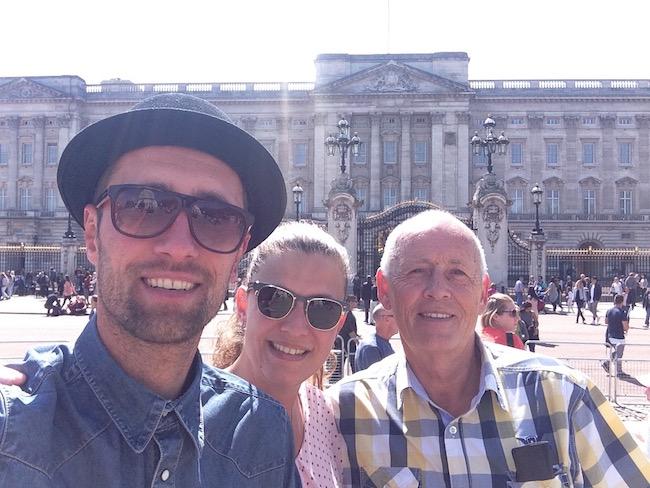 Londen met de family