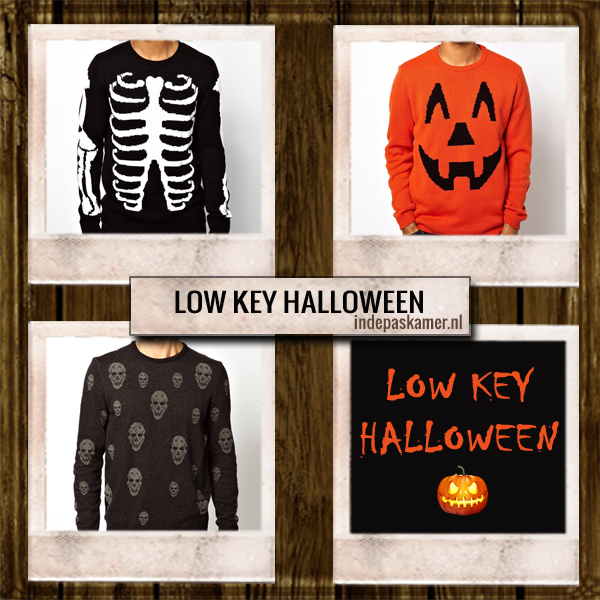 Low key Halloween - indepaskamer