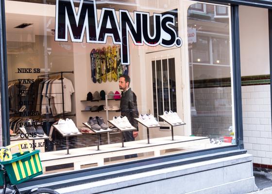 Manus | indepaskamer | Haagse Shoppingroute voor mannen