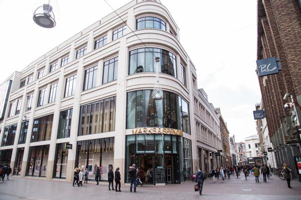Marks & Spencer Den Haag | indepaskamer | Haagse Shoppingroute voor mannen