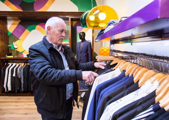 Mono | indepaskamer | Haagse Shoppingroute voor mannen