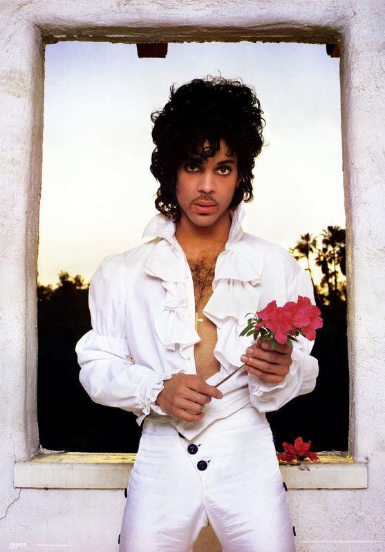 Prince jaren 80 look