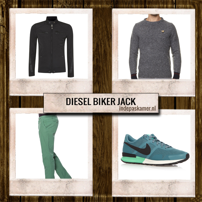 Sales look of the day - indepaskamer - Diesel Jack look