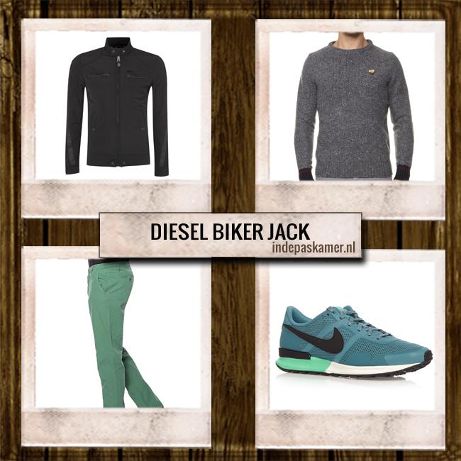 Sales look of the day - indepaskamer - Diesel Jack look