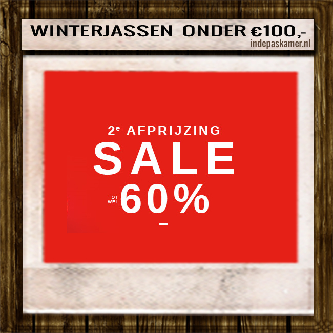 Sales on - indepaskamer - winterjas