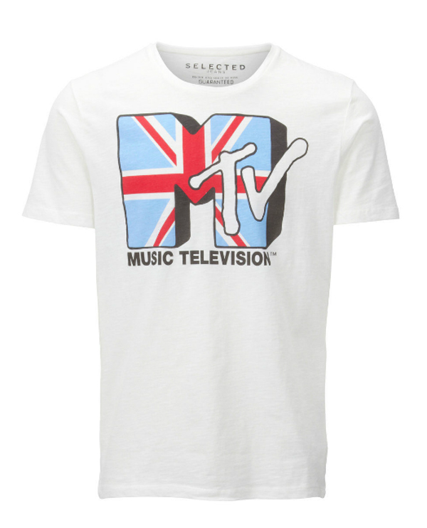 Selected - MTV T-shirt - indepaskamer