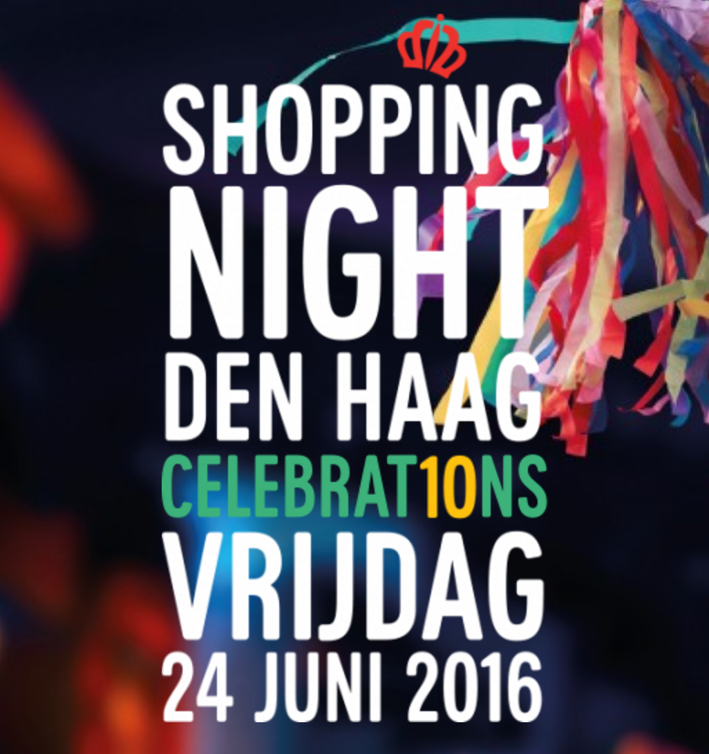 Shopping Night Den Haag 2016