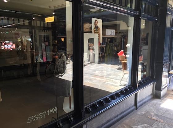 Sissy Boy | indepaskamer | Haagse Shoppingroute voor mannen
