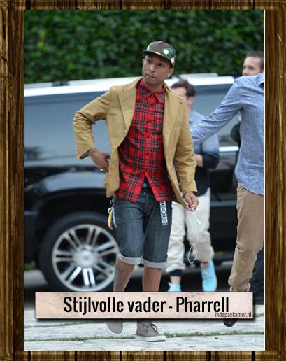 Stijlvolle vader - Pharrel