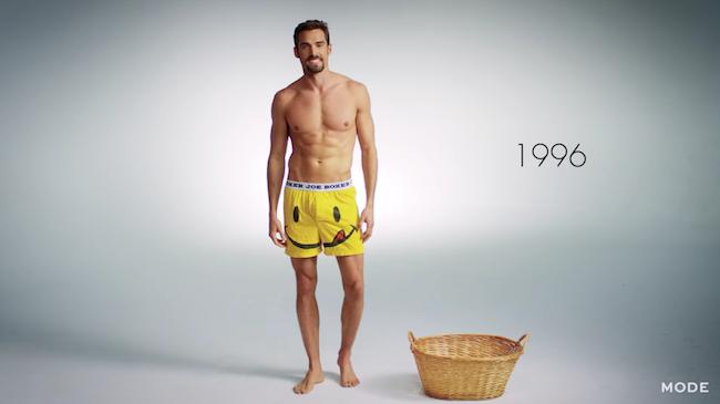 evolutie van ondergoed mannen