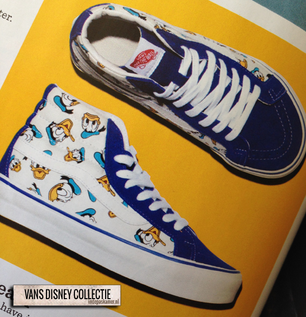 vans disney collectie - indepaskamer